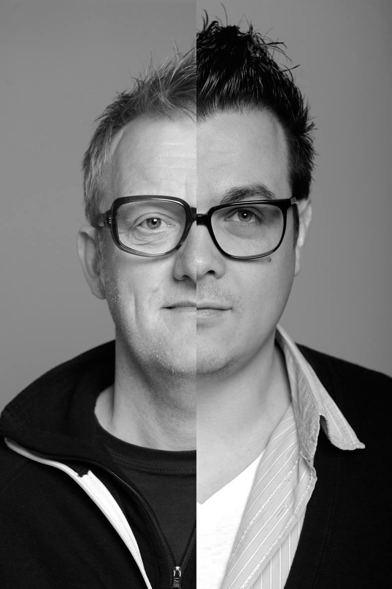 Buro Reng Portret Hans Gerritsen en Pascal Rumph