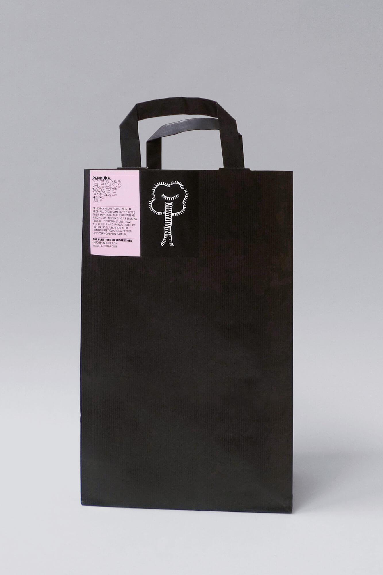Penduka identity paper bag